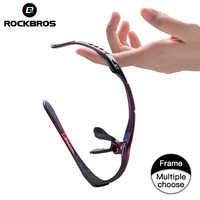 Rockbros ciclismo óculos quadro polarizado óculos de sol quadro ciclismo óculos polarizados lentes de sol para beisbol