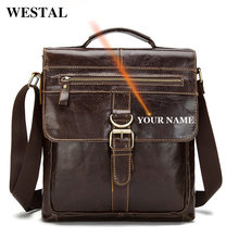 Westal мужская сумка мессенджер Большая через плечо Мужская
