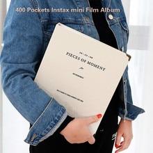 400 kieszenie Mini natychmiastowy Album fotograficzny futerał na zdjęcia do Fujifilm Instax Film 7CS 8 9 25 50s 70 90
