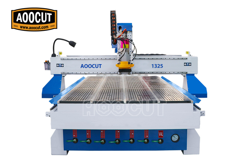 Simple to use high quality 1325 automatic wood carving cnc router with vacuum system 1