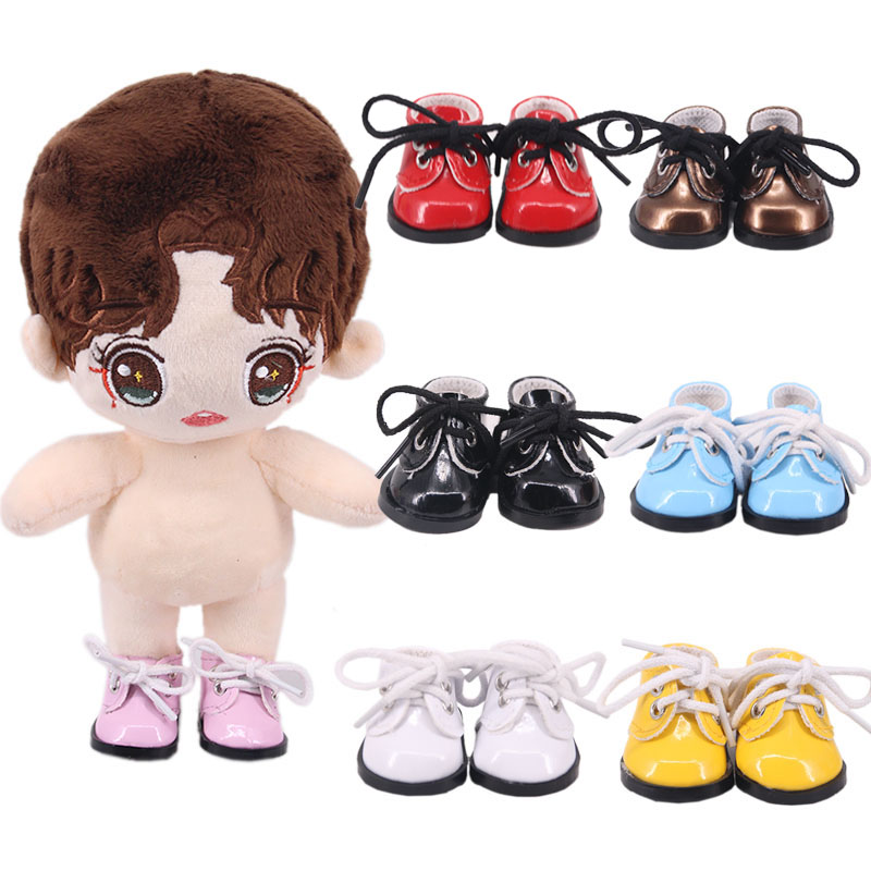 Doll Shoes Handmade Boots 5 Cm 14-Inch Doll Shoes For 14 Inch  Baby New Born Doll Clothes Accessories Girl`s  Toys