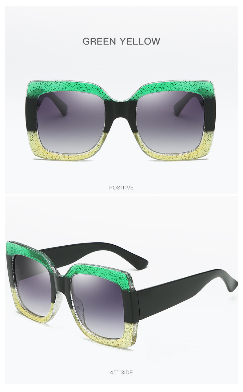 Luxury Brand Designer Square Sunglasses Shades For Women Vintage Women's Sun Glasses Cool Retro 2021 Trends Sunglasses Female gg (13)
