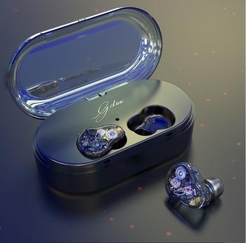 Bluetooth 5,0 наушники 9D стерео беспроводные наушники спортивные водонепроницаемые наушники гарнитуры 2000mAh зарядная коробка с микрофоном
