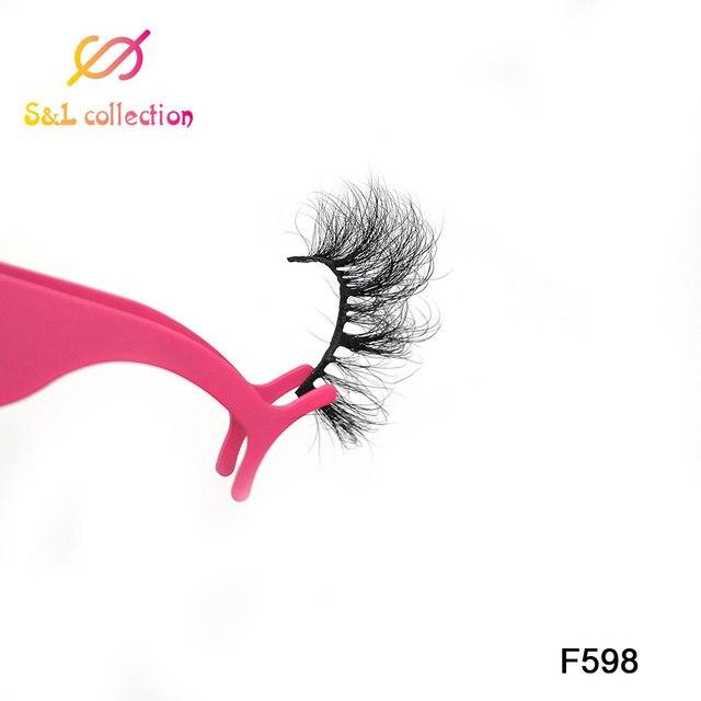 Mink Lashes 3D Mink Eyelashes 100% Cruelty free Lashes Handmade Reusable Natural Eyelashes Popular False Lashes Makeup 4