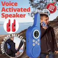 2 шт. детские игрушки рации игры двухстороннее радио дальность портативный беспроводной приемопередатчик машина детский подарок