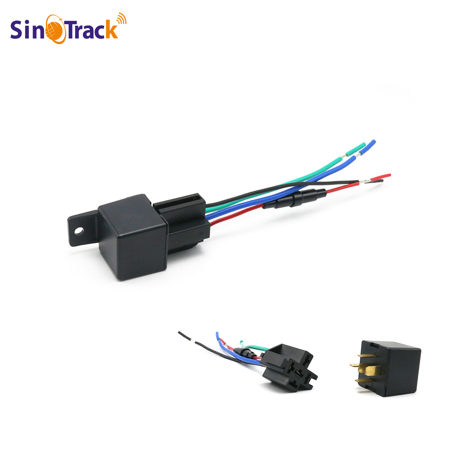 Car GPS Tracker ST-907 Tracking Relay Device GSM Locator Remote Control Anti-theft Monitoring Cut Off Oil System With Free APP