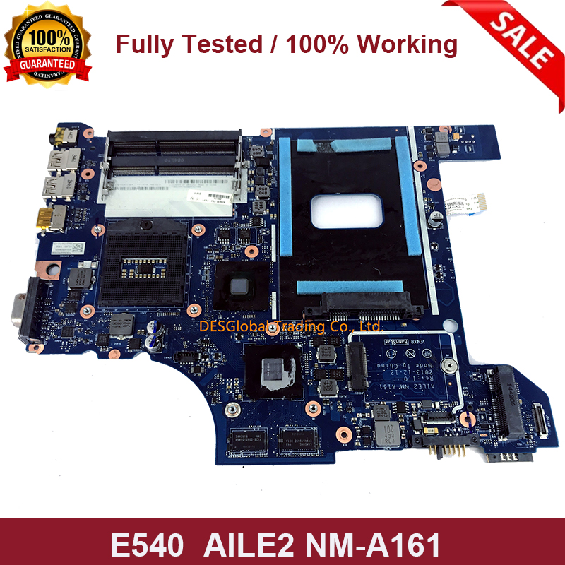 For Lenovo ThinkPad Edge E540 Laptop Motherboard AILE2 NM-A161 04X4948 Mainboard Fully Tested Fast Shipping