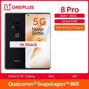 Купить В наличии для OnePlus X 8 Pro 5g Глобальный Встроенная память 8GB 128GB Смартфон Snapdragon 865 120 Гц Дисплей 6,78 дюйм30 Вт 4510 мА/ч, 48MP Камера nfc UFS 3,0