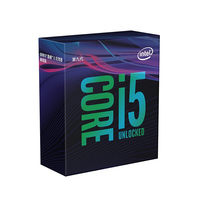 Intel i5 9600KF Core Desktop Processor 6 Cores up to 4.6 GHz Turbo Unlocked Without Processor Graphics LGA1151 300 Series 95W