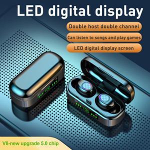 Беспроводные наушники BL V8 Mini TWS Bluetooth 5,0, эргономичный дизайн, перезаряжаемые наушники высокого качества, Hi-Fi 9D стерео наушники