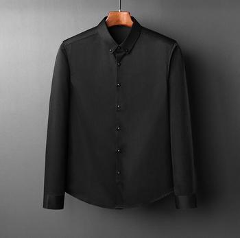 2019 new  men's shirts men's shirts em8 youth business long-sleeved shirts men's thick warm shirts FF720-8