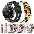 Ремешок 20 22 мм для Samsung Galaxy Watch Active 2 40/44 мм Gear, спортивный браслет для наручных часов Huami Amazfit Bip Huawei watch GT/2