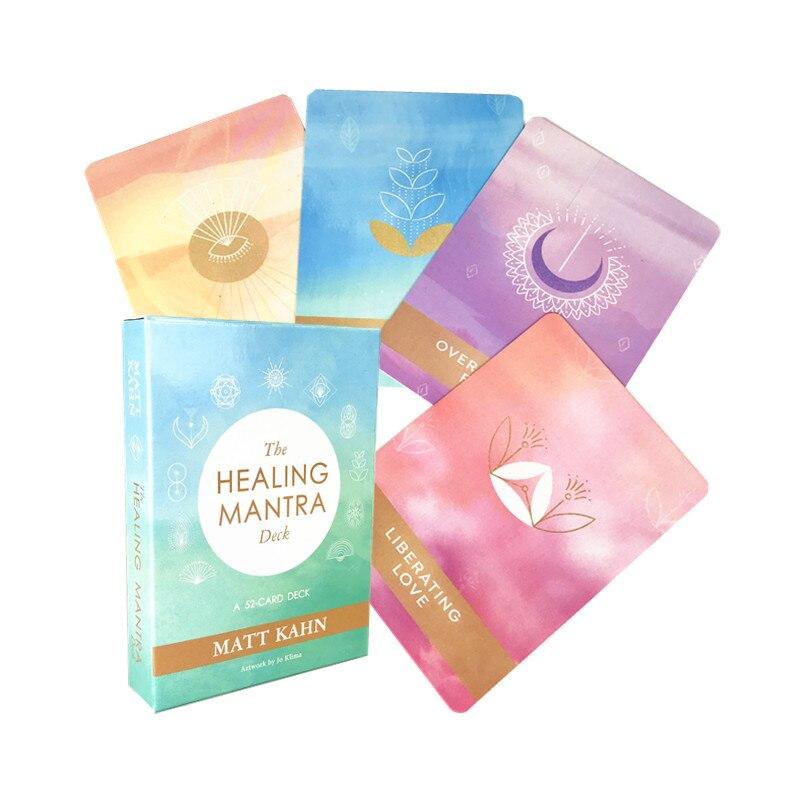 Лечебная мантра, колода Матта Канна, популярная духовная мантра Таро Oracle, карточная игра, лечебный набор