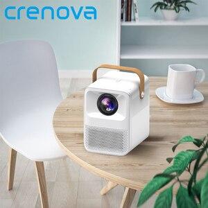 Image 1 - CRENOVA جهاز عرض صغير ET30S 1080P كامل HD أندرويد واي فاي ثلاثية الأبعاد المحمولة القاذف السينما المنزلية دعم 4K LED عارض فيديو المنزل