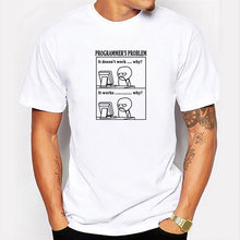 Homens verão camiseta kawaii rogue manga curta topo presente pc problema figura engraçado impressão tshirt masculino streetwear harajuku t camisas