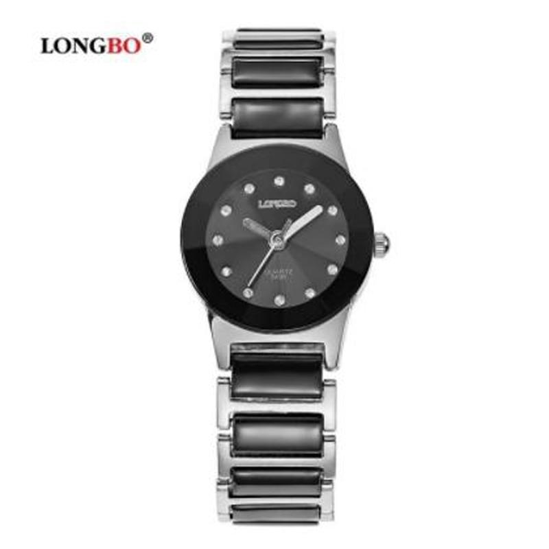 Fashion Longbo Brand Men Women Lovers Brief Casual Unique Quartz Wrist Watchesluxury Ceramic Watch Relogio Feminino Montre Femme