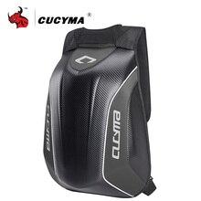 CUCYMA Waterproof Motorcycle Bag Motorcycle Backpack Tank Bag Carbon Fiber Moto Motorbike Helmet Bags Travel Luggage #