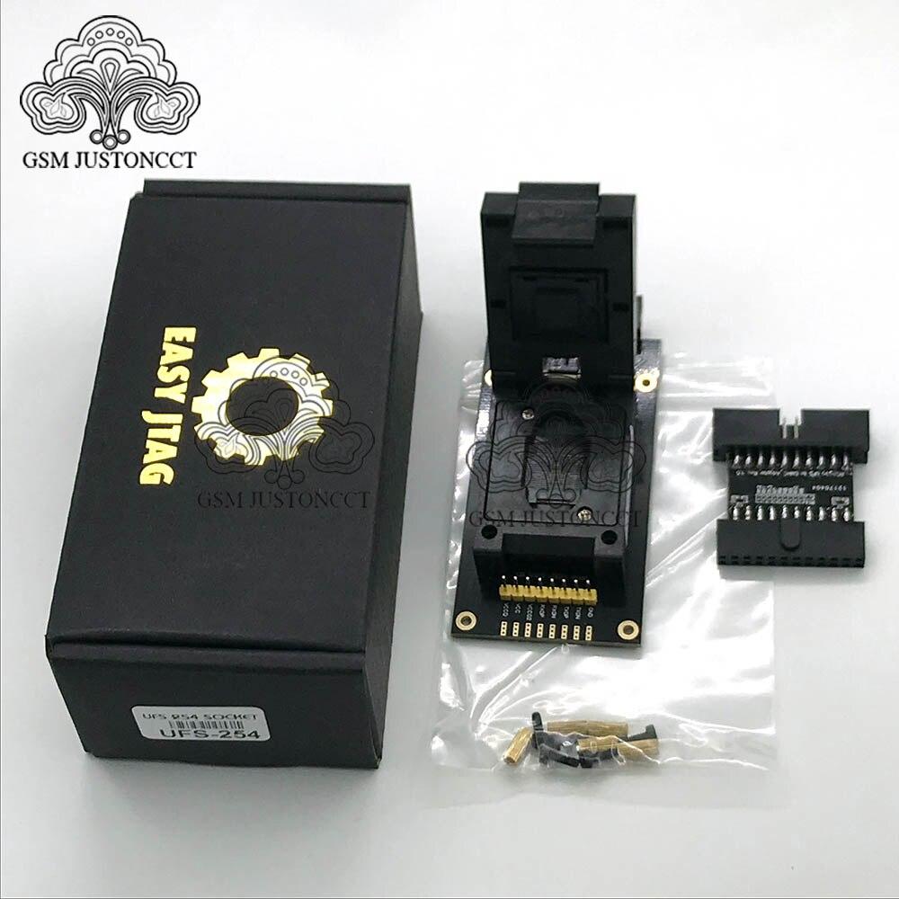 Image 2 - UFS BGA 254 адаптер гнезд для легкий jtag plus boxДетали устройств связи    АлиЭкспресс