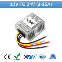 Бесизолированный повышающий преобразователь мощности XWST, постоянный ток от 12 В до 24 В, 3 А, 5 А, 8 А, 10 А, 12 а, 15 А, 24 В постоянного тока, регулятор ...