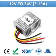 Xwst dc 12 v a 24 v intensificar 3a 5a 8a 10a 12a 15a não isolado boost power converter 24vdc regulador de tensão 12 volts 24 volts