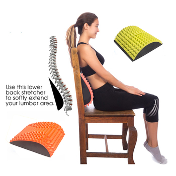 Abdominal mat back stretcher massager sciatica chronic lumber pain relief