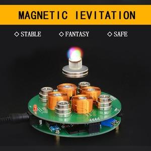 Image 2 - CIRMECH 2019  Intelligent magnetic levitation  push type magnetic levitation DIY Kit DC12V 2A New style Suspension magnetic