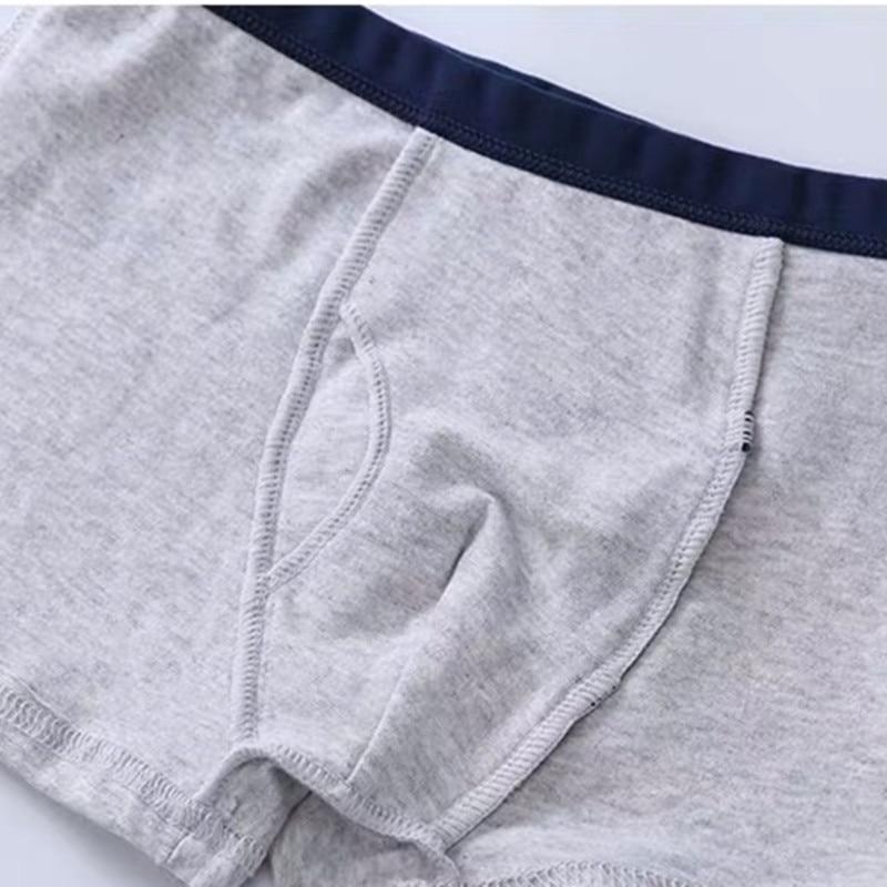 1Pc Children Underwear Boys Boxer Shorts Kids Cartoon Panties Soft Baby Teenage Underpants110-150cm 3