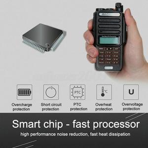 Baofeng UV-9R plus Waterproof IP68 Walkie Talkie High UV9R Ham Long Power Two Radio Range Way portable CB 20 hunting KM 50 V6W9
