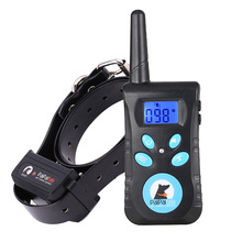 Paipaitek Dog Training Collar Met Afstandsbediening 2 In 1 Automatische Bark Stop Collar Shock 550Yard Range Oplaadbare en Waterdicht