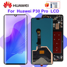 Super Amoled For Huawei P30 Pro LCD VOG-L04 VOG-L09 VOG-L29 VOG-TL00 LCD Display Touch Screen Digitizer Replace P30 Pro Display