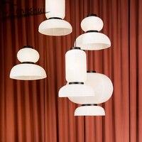 Japan Style Iron Paper Pendant Lights Lighting LED Pendant Lamp Living Room Bedroom Light Fixture Dining Room Hanging Lamp