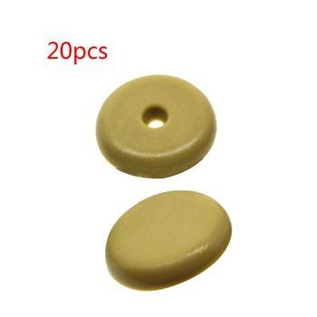 Plastic Safety Car Safety Seat Belt Stopper Spacing Limit Buckle Clip Retainer Seatbelt Stop Button image