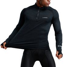 New Quick Dry Running Shirt Men Bodybuilding Sport T-shirt Long Sleeve Compression Top Gym t Shirt Men Fitness Tight rashgard new quick dry running shirt men bodybuilding sport t shirt long sleeve compression top gym t shirt men fitness tight rashgard