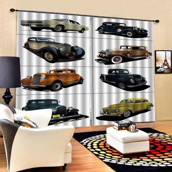 car curtains Customized size Luxury Blackout 3D Window Curtains For Living Room stereoscopic curtains