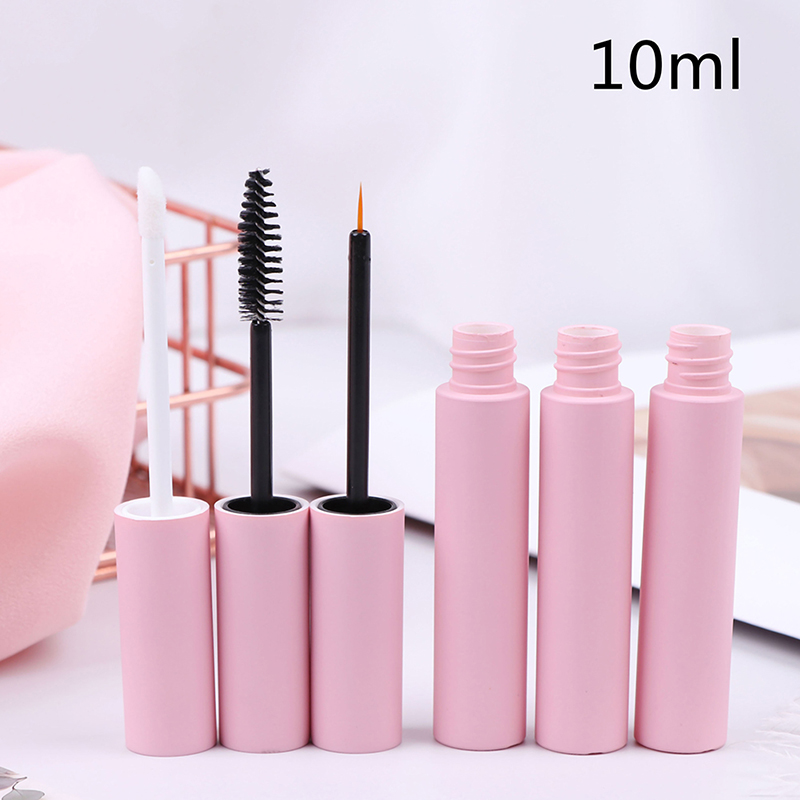 10ml Pink Lip Gloss Tubes Empty Lip Balm Bottle Empty Eyeliner Mascara Cosmetic Container Packing Container