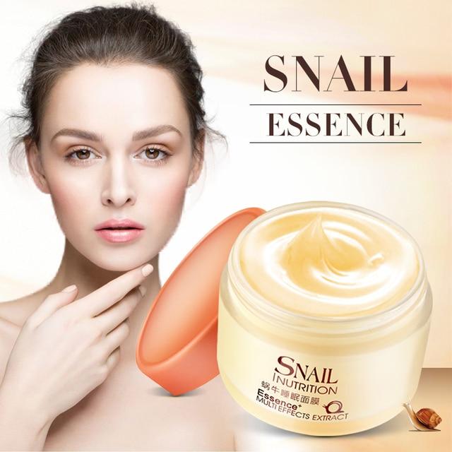 LAIKOU Snail Sleeping Mask Korean Cosmetics Face Treatment  Moisturizing Eyes Nourish Oil control Whitening  Night Cream 1