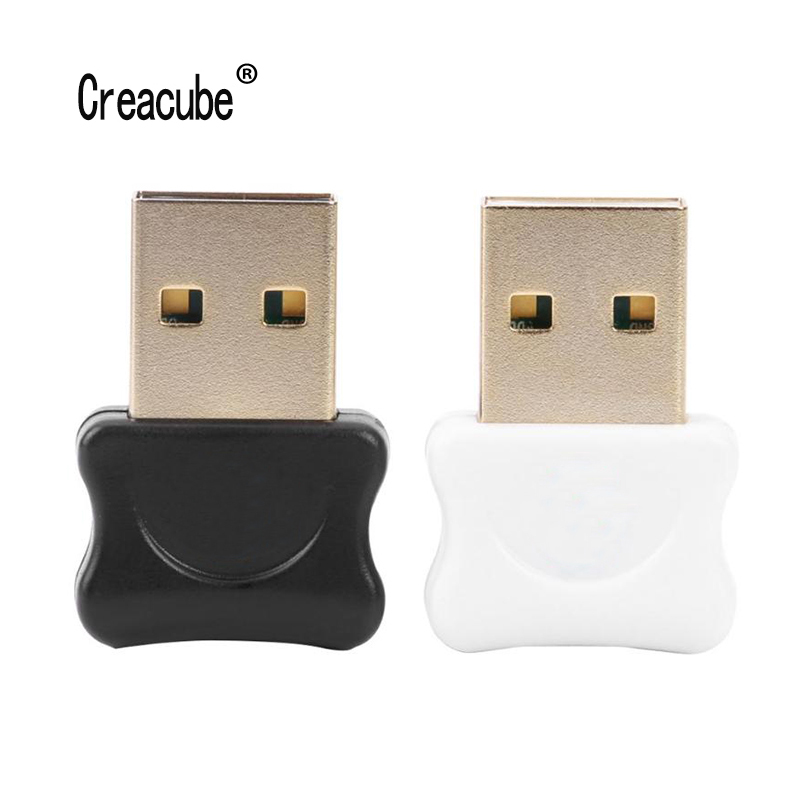 Creacube V5.0 Wireless USB Bluetooth 5.0 Adapter Bluetooth Dongle Music Sound Audio Receiver Bluetooth Transmitter For PC