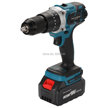 Impact-Drill Cordless Ah-Battery 18v-Screwdriver 13mm with One-4.0