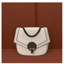 YIFANGZHE 2019 Mini Genuine Leather Shoulder Women  Bags, Quality Gilrs Small Messenger Bags Saddle Design with metal strap