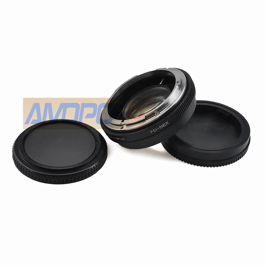 Calidad Canon FD Lente Adaptador De Montaje Sony NEX E para todas las cámaras de montaje Sony E