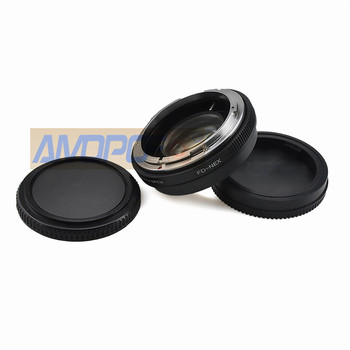 FD-NEX Focal Reducer Speed Booster Adapter for Canon FD mount Lens to for Sony NEX E NEX-F3 NEX-7 NEX-5N NEX-C3 NEX-3 NE фото