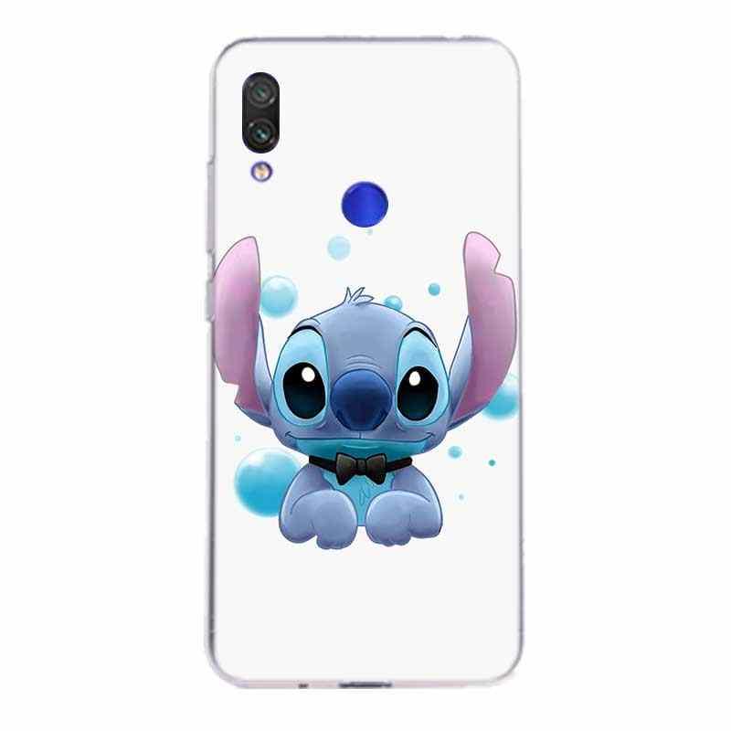 Vbnm Lilo Stitch Hoạt Hình Ốp Lưng Silicon Cho Xiaomi Redmi Note 9 8 7 6 5 Plus 4 4X Pro 8A 7A S2 6A 5A K30 K20 Ốp Lưng TPU