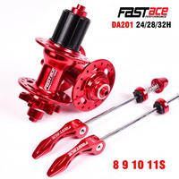 Fastace MTB Mountain Bike Hub 11 Speed 32 Holes 28h 36h Hub 4 Sealed Bearing 3 Pawls 30 teeth Taki QR Hubs Disc Brake Bike parts
