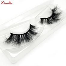 100% 3D real mink hair lashes wholesale natural long individual thick fluffy soft false eyelashes makeup dramatic J088
