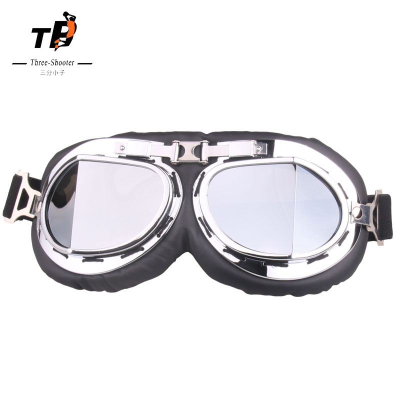 Retro Break Angle Harley Goggles Motorcycle Off-road Goggles Bicycle Glass Sports Riding Eye-protection Goggles