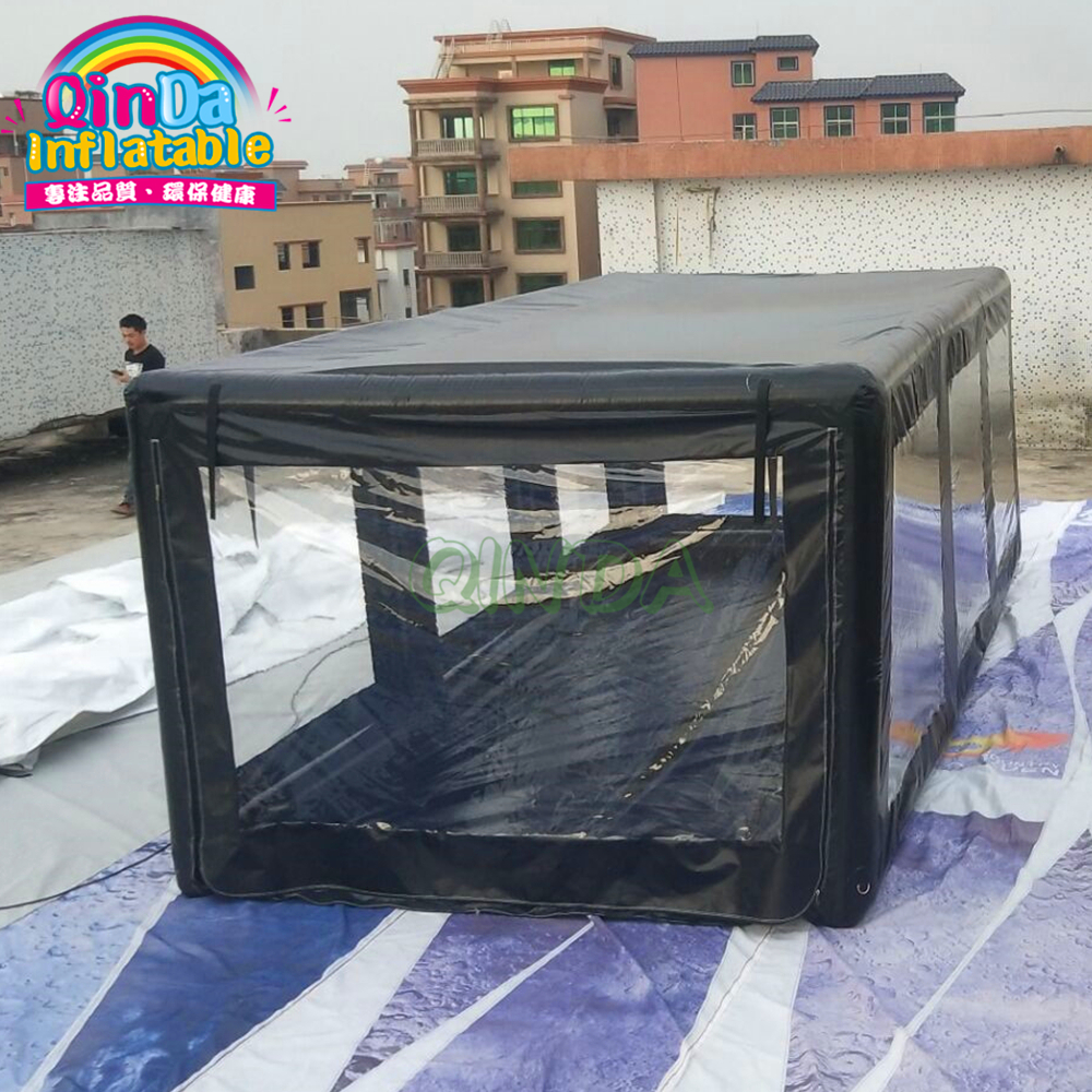 Outdoor Inflatable Car Shelter Storage Tent Dust Proof Tent Indoor Inflatable Car Showcase