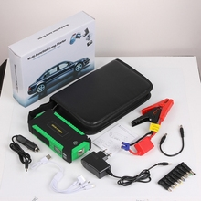 Car Jump Starter Petrol 4 USB LED Car Battery Charger Emergency Discharge Auto Starting Booster 12000mAh Car Battery mini car jump starter for petrol car auto starting car battery booster petrol starting device 12v power bank emergency discharge
