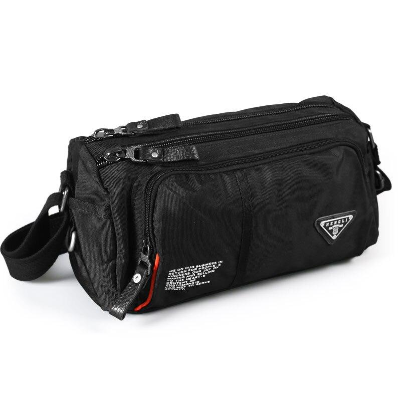 2020 New Man Shoulder Waterproof Bags Crossbody Bag Boys Versatile Oxford Cloth Casual Travel Messenger Bag
