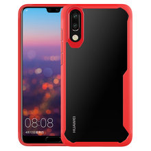 For Huawei P20 P30 Lite Pro Nova 3 3E 4E 4 Mate 10 20 Lite Clear Shockproof Soft Silicone Transparent Case on Honor 10 Lite V20(China)
