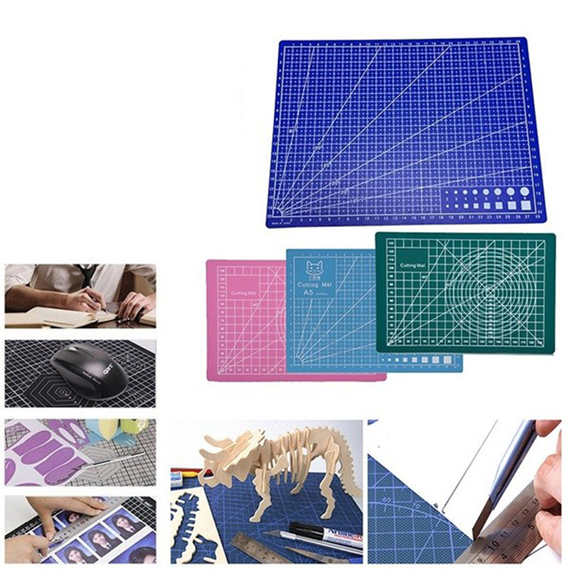 1pc Cutting Mat Pad Patchwork Cut Pad A3 Cutting Board Double-sided Self-healing